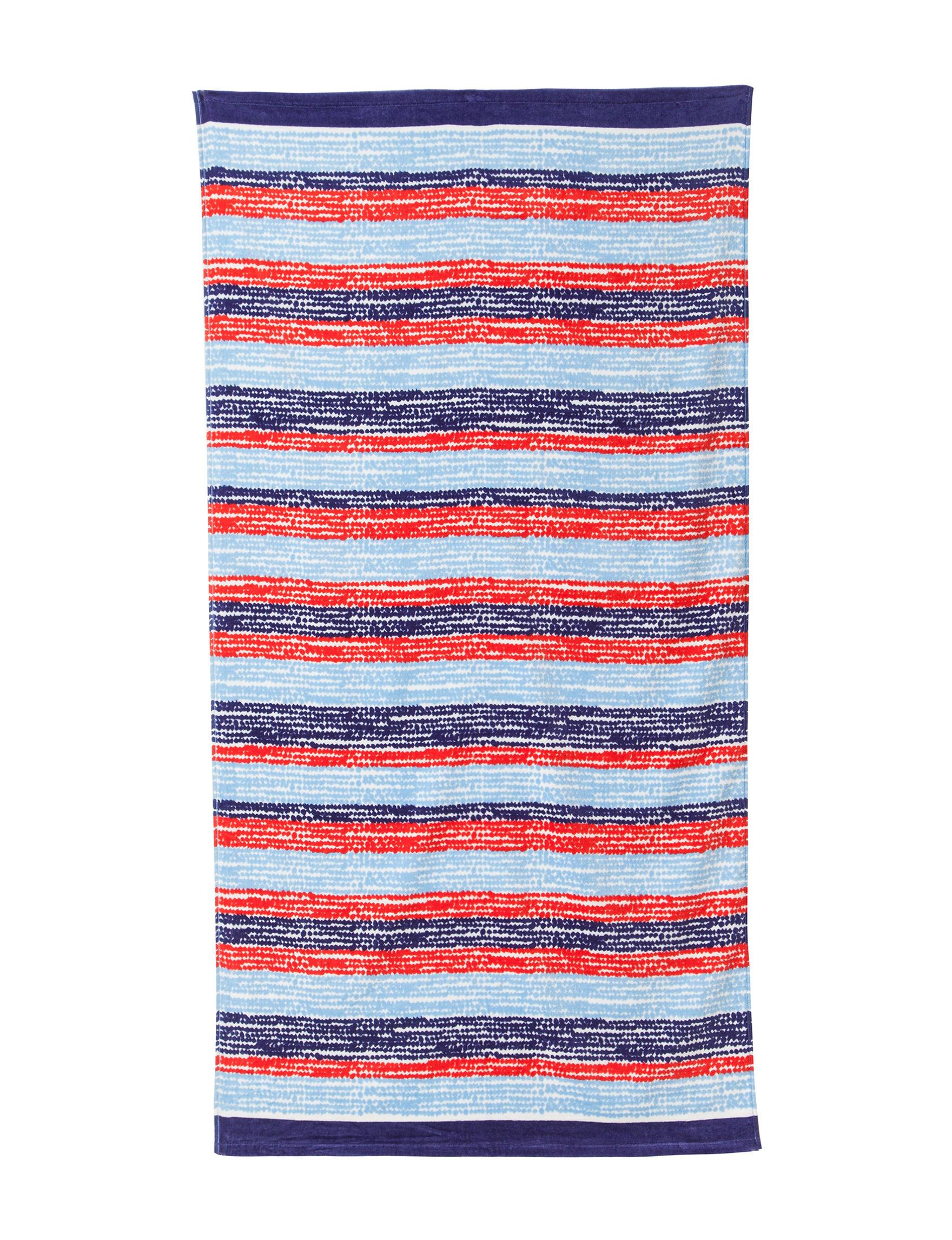 Peri Red Beach Towels Towels