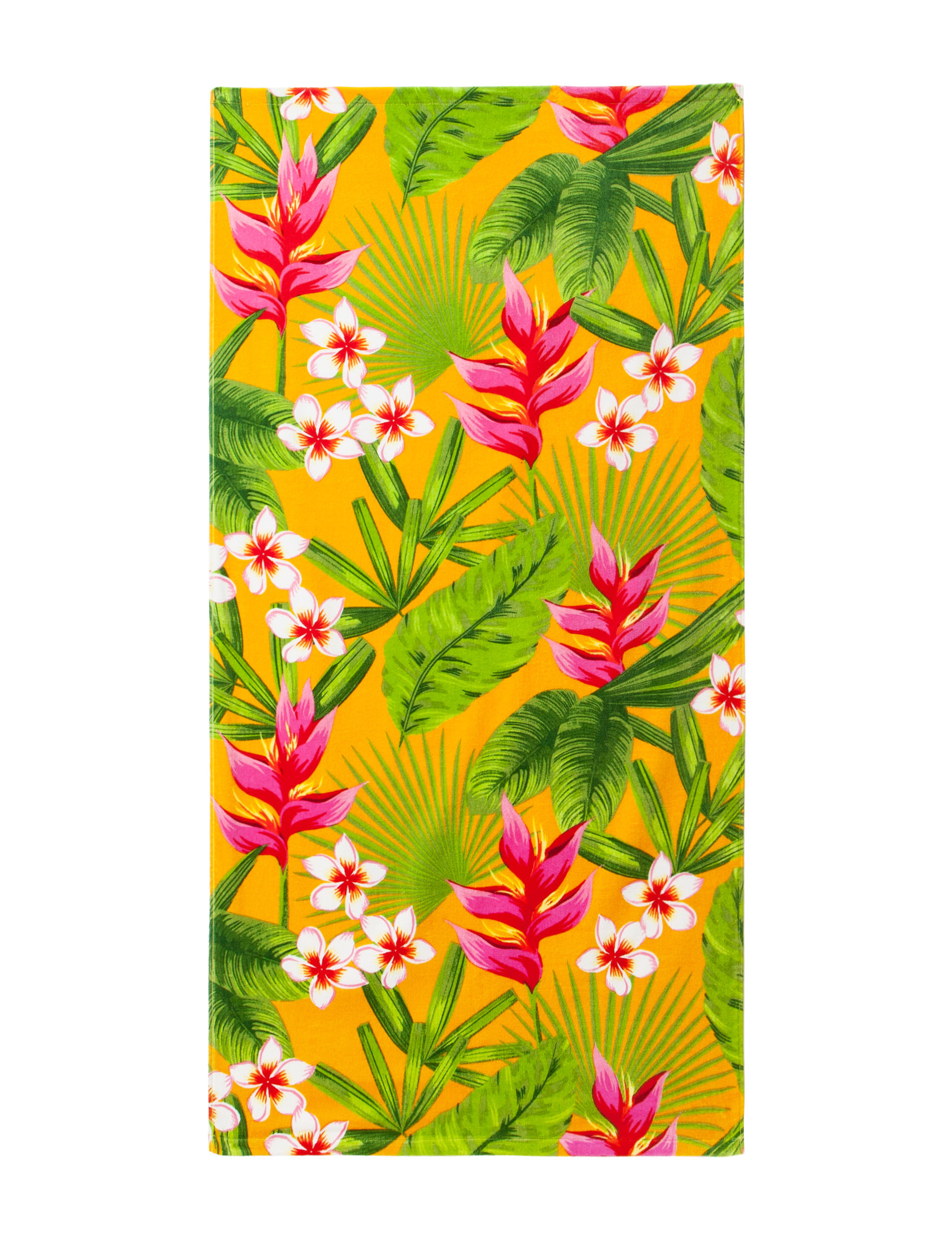 Peri Bright Orange Beach Towels Towels