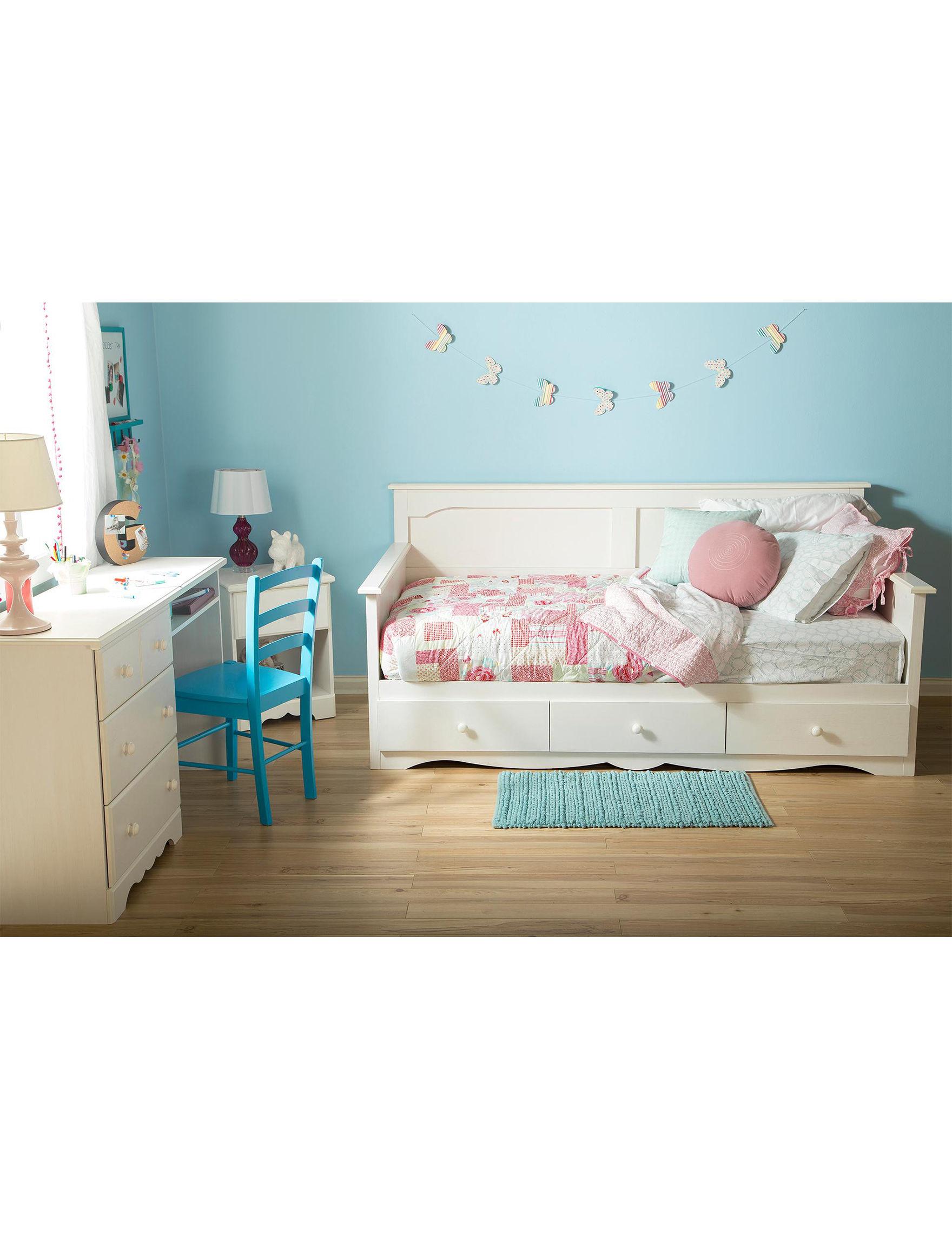 South Shore White Desks Home Office Furniture