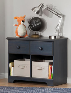 South Shore Blue Night Stands Bedroom Furniture
