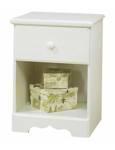 South Shore White Night Stands Bedroom Furniture