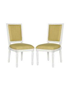 Safavieh 2-pc. Buchanan French Brasserie Chair Set