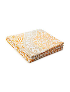 Great Hotels Collection Bright Orange Blankets & Throws
