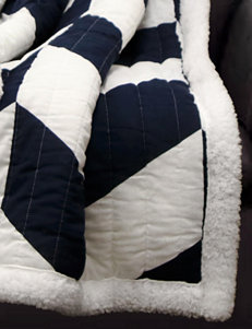 Lush Decor Navy Blankets & Throws