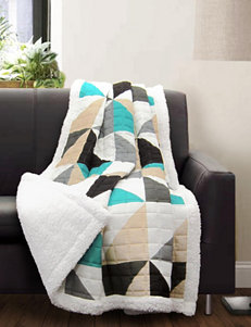 Lush Decor Turqouise Blankets & Throws