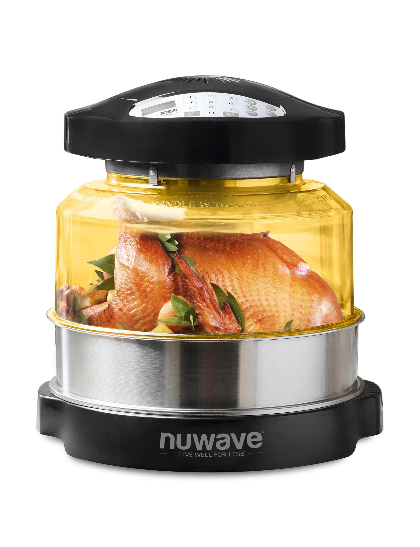 NuWave Black Toasters & Toaster Ovens