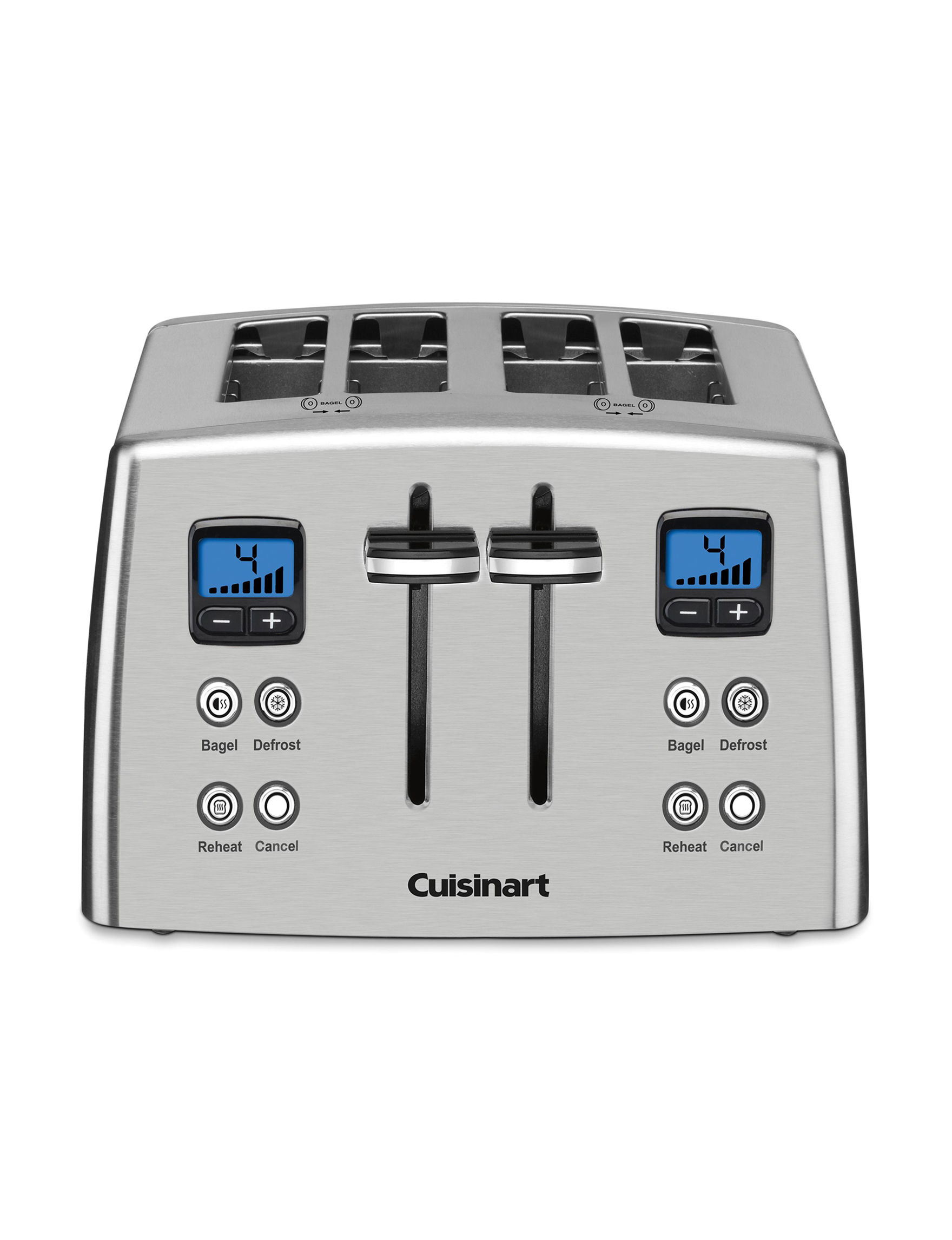 Cuisinart Stainless Toasters & Toaster Ovens Kitchen Appliances