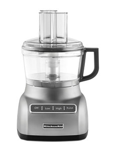 KitchenAid Silver Food Processors Kitchen Appliances