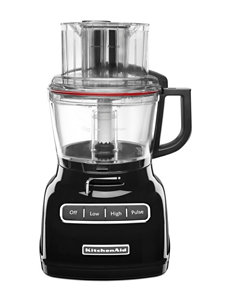 KitchenAid Black Food Processors Kitchen Appliances
