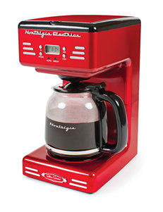 Nostalgia Electrics Red Coffee, Espresso & Tea Makers Kitchen Appliances