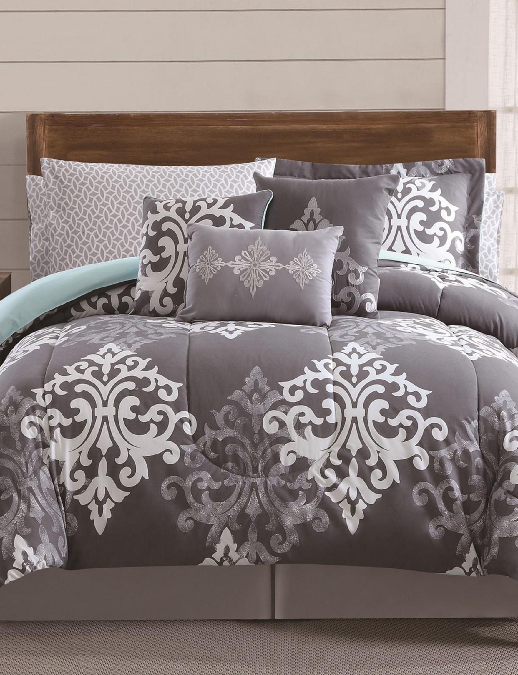 Metro Luxe Home Grey Comforters & Comforter Sets