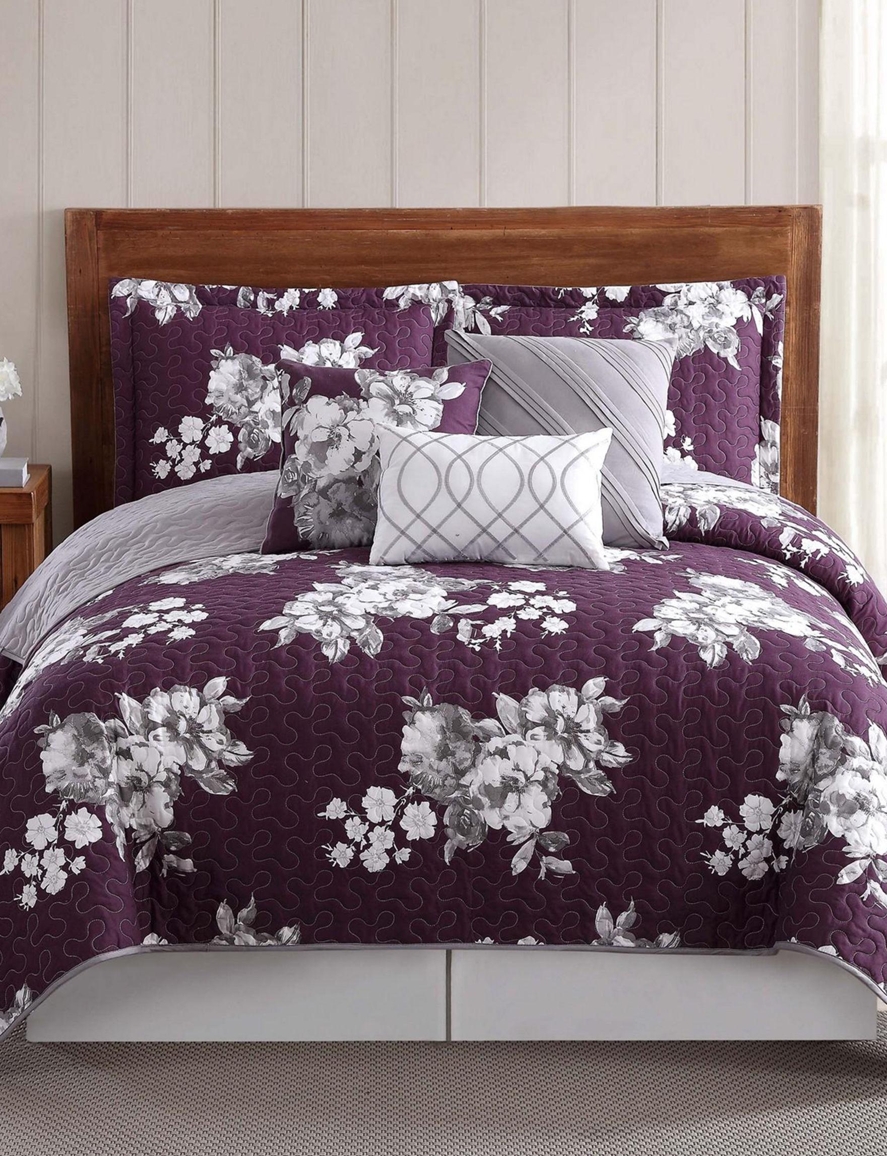 Style 212 Purple Quilts & Quilt Sets