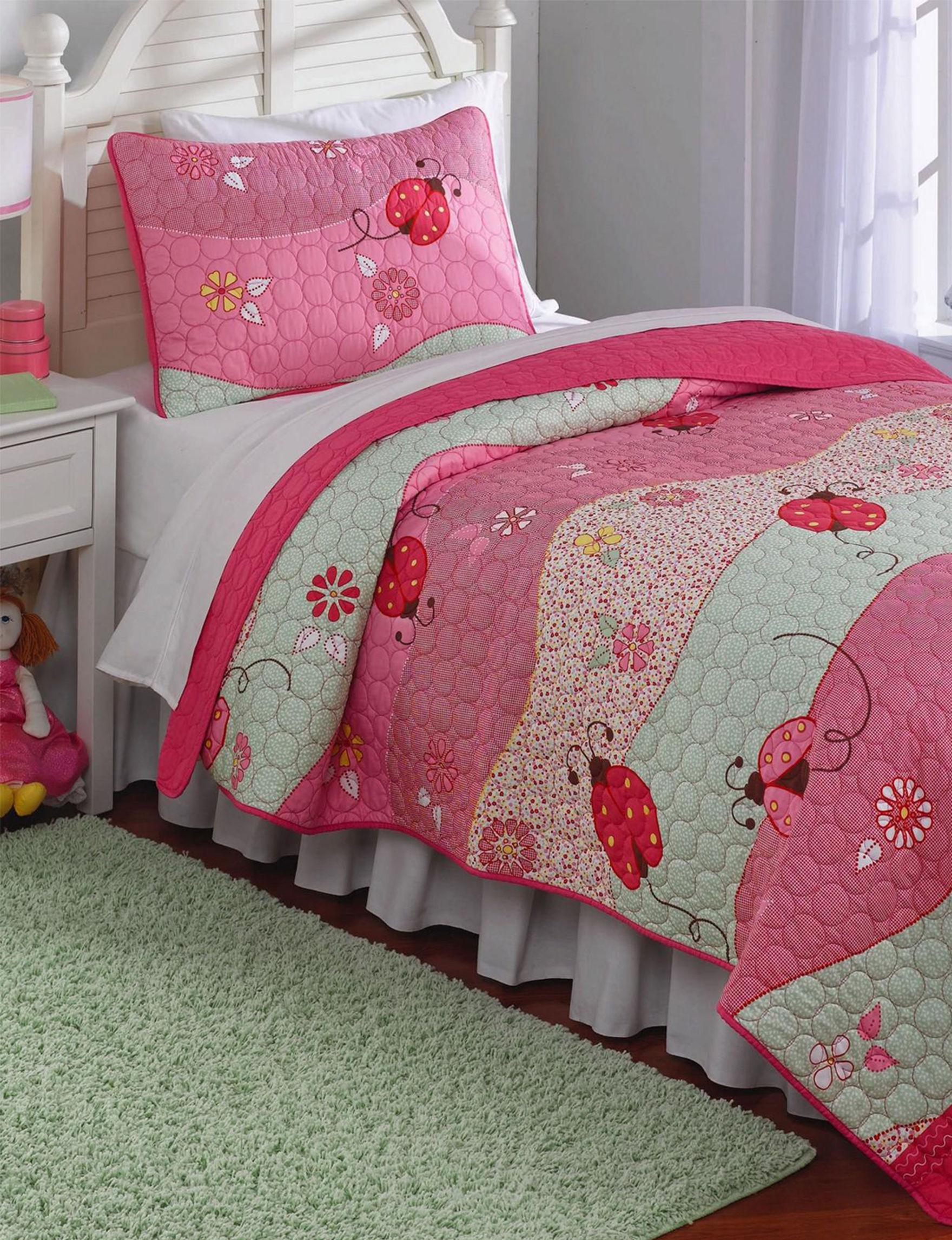 Laura Hart Pink Quilts & Quilt Sets