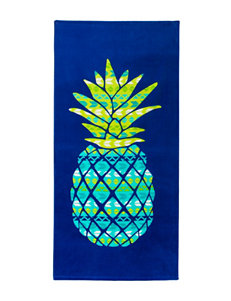 Peri Royal Blue Beach Towels Towels