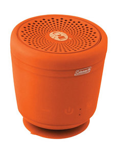 Coleman Aktiv Sounds Orange Sphere Waterproof Bluetooth Speaker