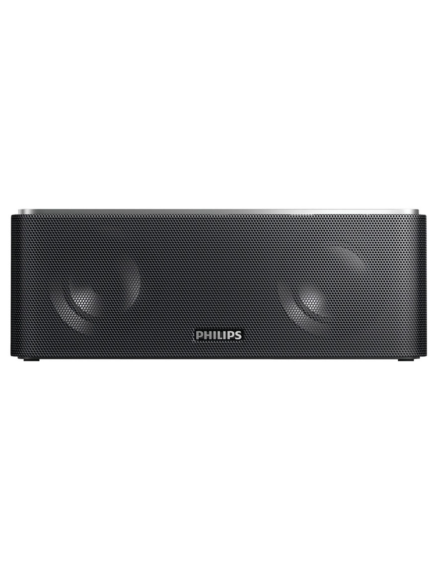 Philips Black Speakers & Docks Home & Portable Audio