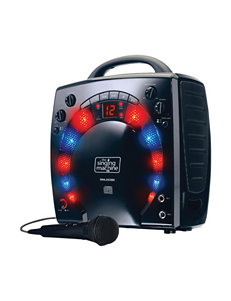 Singing Machine Black Karaoke Machines Home & Portable Audio