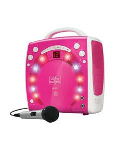 Singing Machine Pink Karaoke Machines Home & Portable Audio