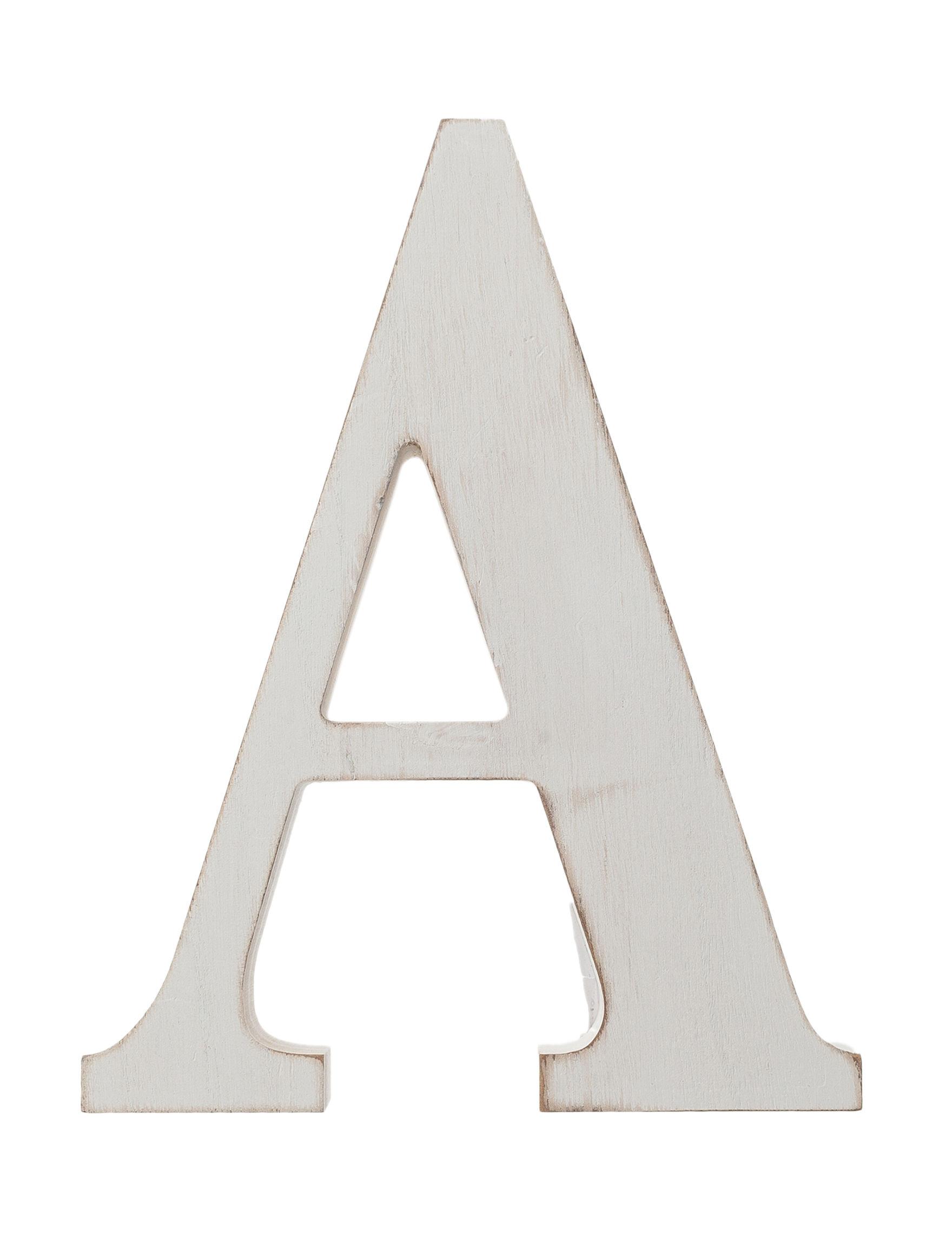 Prinz White Monogram