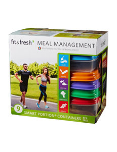 Fit & Fresh Multi Lunch Boxes & Bags Prep & Tools