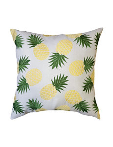 Home Fashions International Yellow Decorative Pillows Outdoor Decor