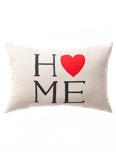 Home Fashions International Beige Decorative Pillows