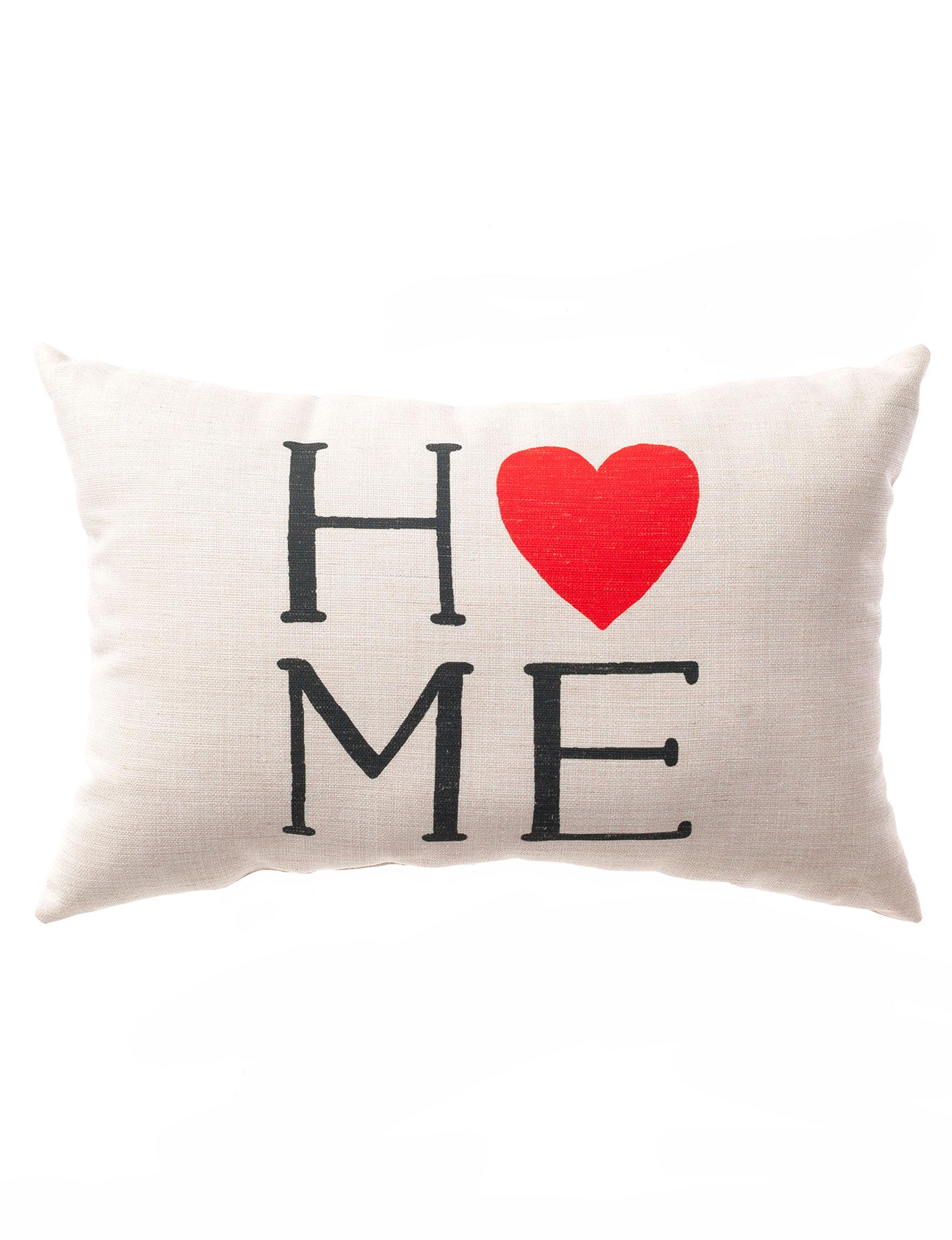 Home Fashions International Beige Decorative Pillows