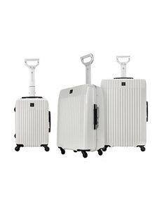 TPRC White Luggage Sets