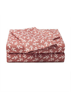 Great Hotels Collection Tossed Leaves Print Sheet Set