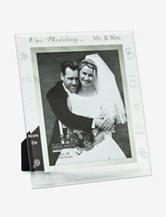 Malden Wedding Day Glass Frame
