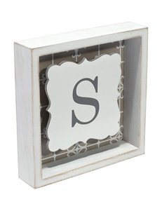 Malden White Monogram
