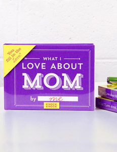 Knock Knock What I Love About Mom Gift Book