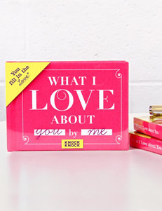 Knock Knock What I Love About You Gift Book