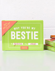 Knock Knock Why You're My Bestie Gift Book