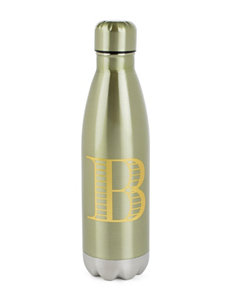 Tri Coastal Green Monogram Drinkware
