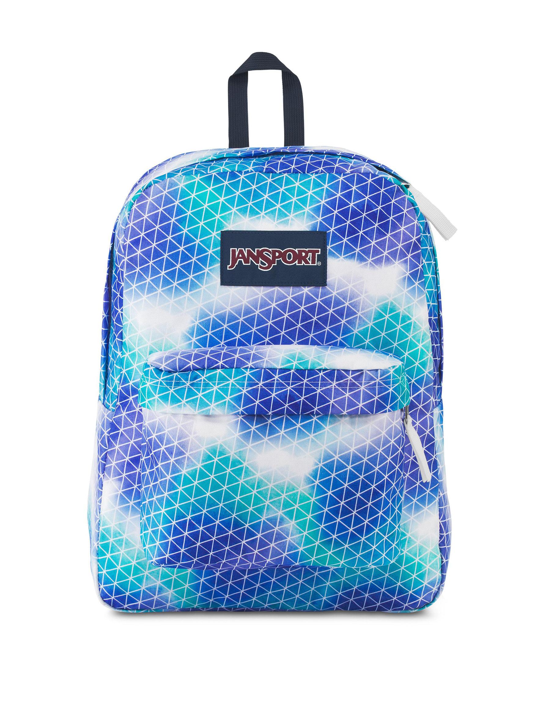 Jansport Blue / Multi Bookbags & Backpacks