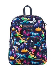 Jansport Blue Multi Bookbags & Backpacks