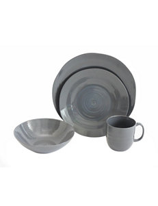 Baum Bros Imports Charcoal Dinnerware Sets Dinnerware
