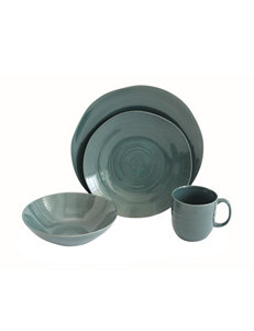 Baum Bros Imports Teal Dinnerware Sets Dinnerware