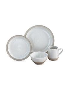 Baum Bros Imports White Dinnerware Sets Dinnerware