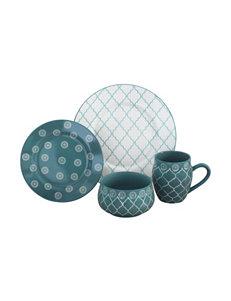 Baum Bros Imports Turquoise Dinnerware Sets Dinnerware