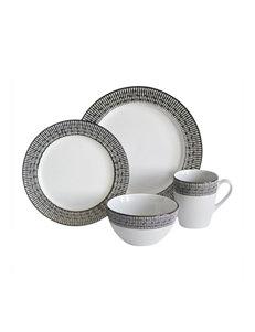 Baum Bros Imports Beige Dinnerware Sets Dinnerware