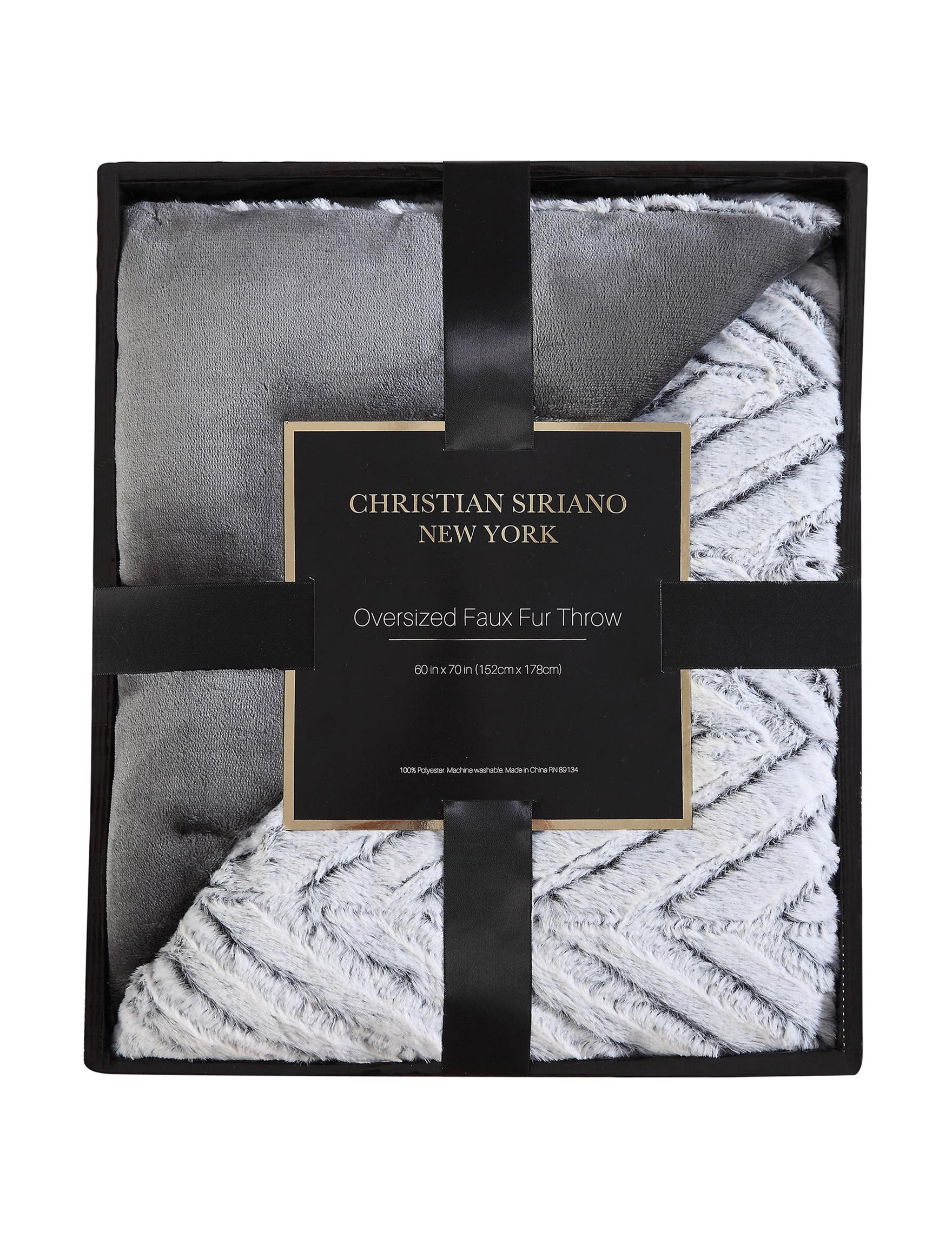 Christian Siriano Multi Blankets & Throws