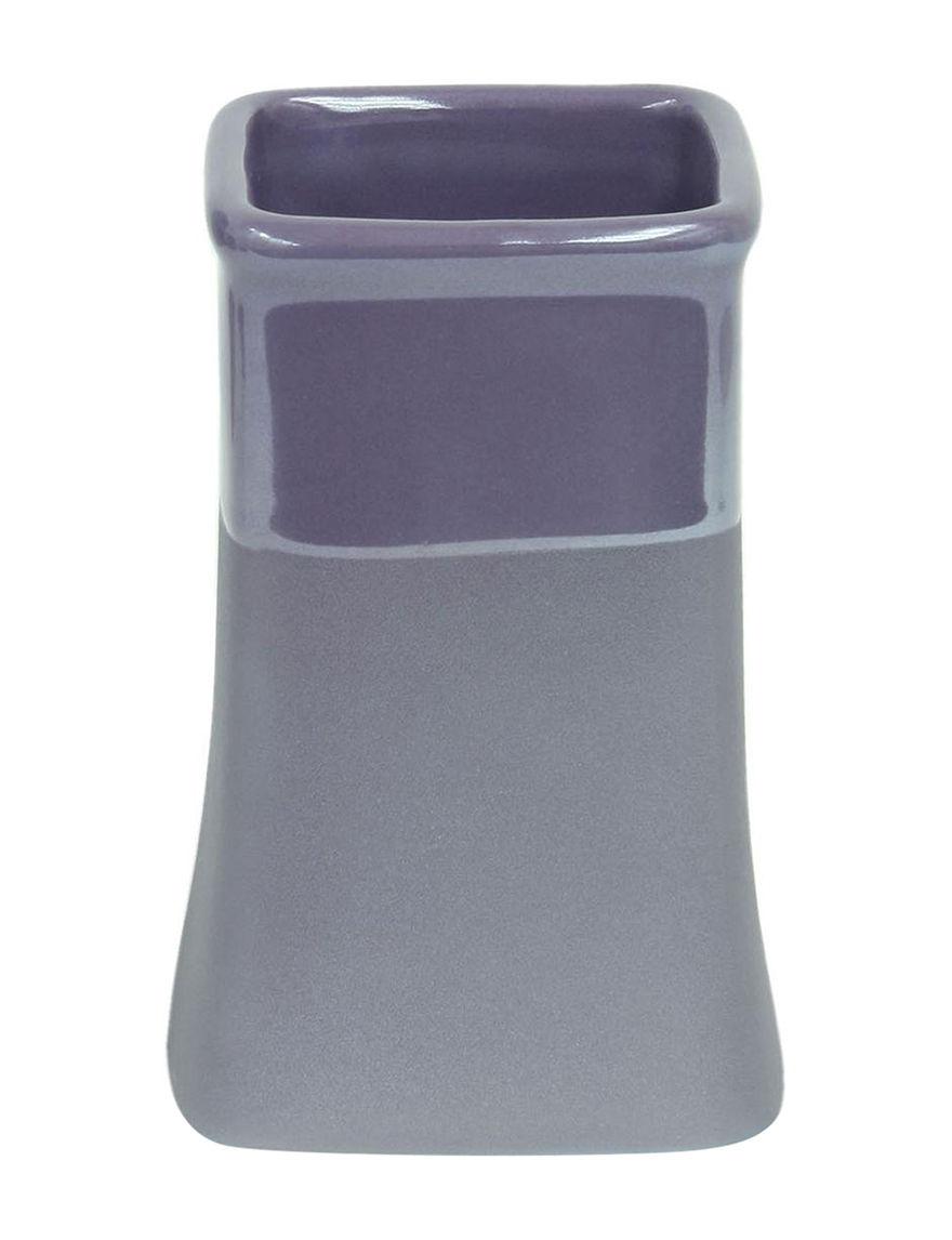 Jessica Simpson Purple Tumblers Bath Accessories