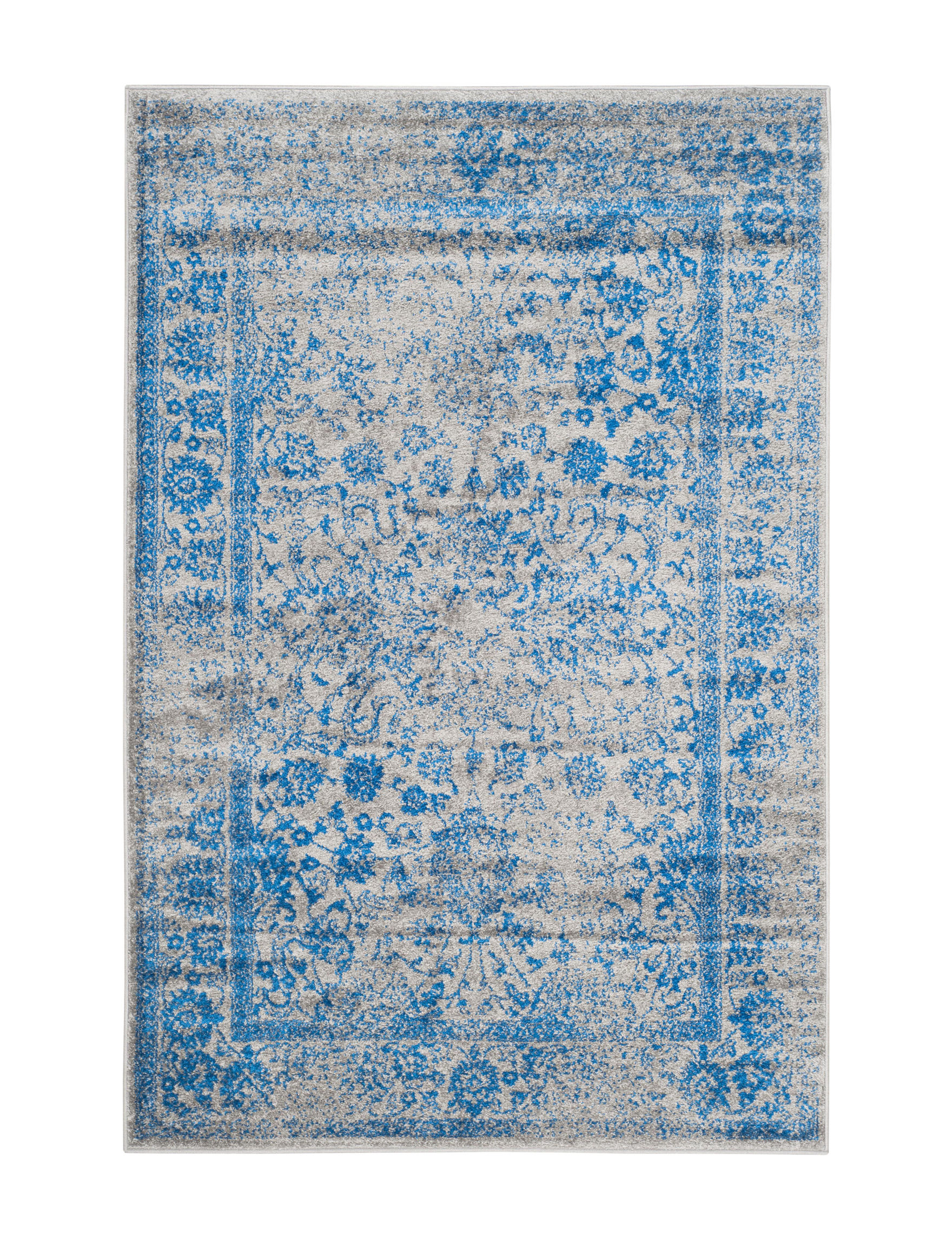 Safavieh Grey / Blue Area Rugs Rugs