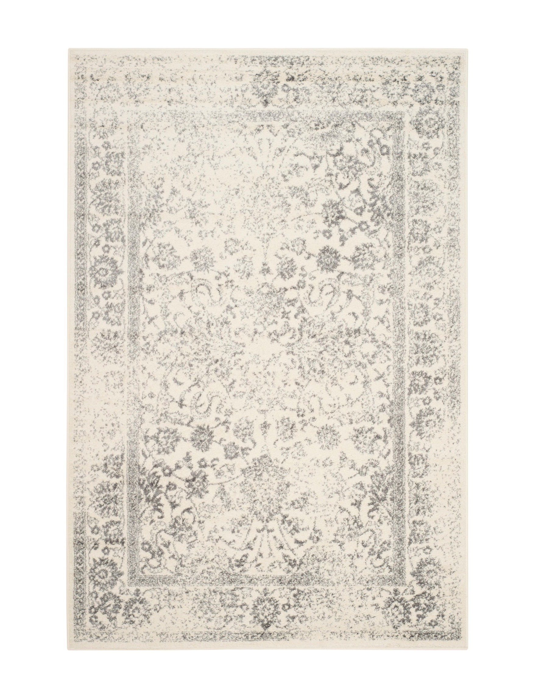 Safavieh Ivory / Silver Area Rugs Rugs
