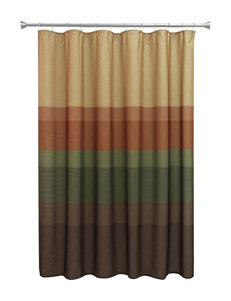 Bacova Guild Brown Shower Curtains & Hooks