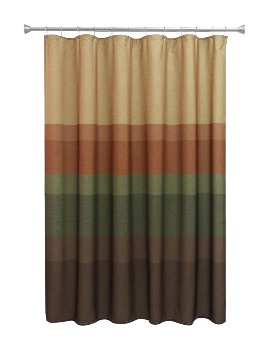 Bacova Guild Textured Layers Shower Curtain