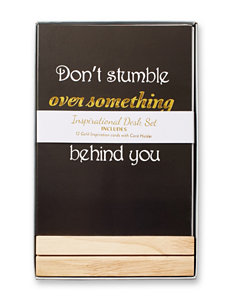 Concepts in Time Inspirational Desk Cards