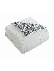 Chic Home Design Thess White Reversible Comforter Set